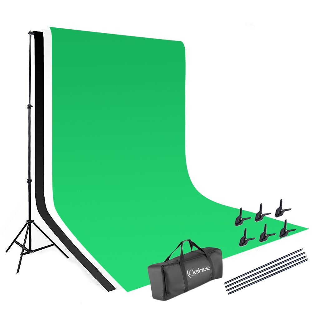 New 10ft Adjustable Background Stand Kit For Photography