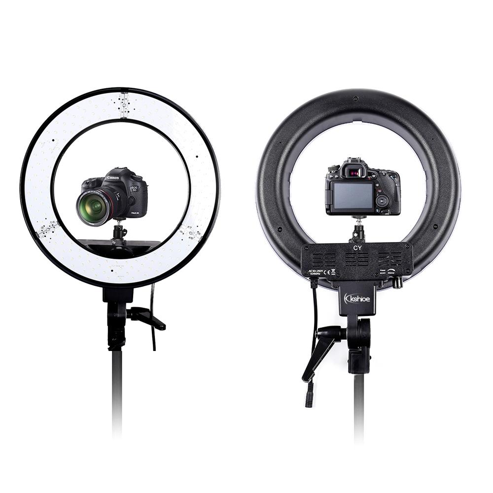 Light Stand Ebay: 180pcs LED Ring Light Dimmable 5500K Lighting Video