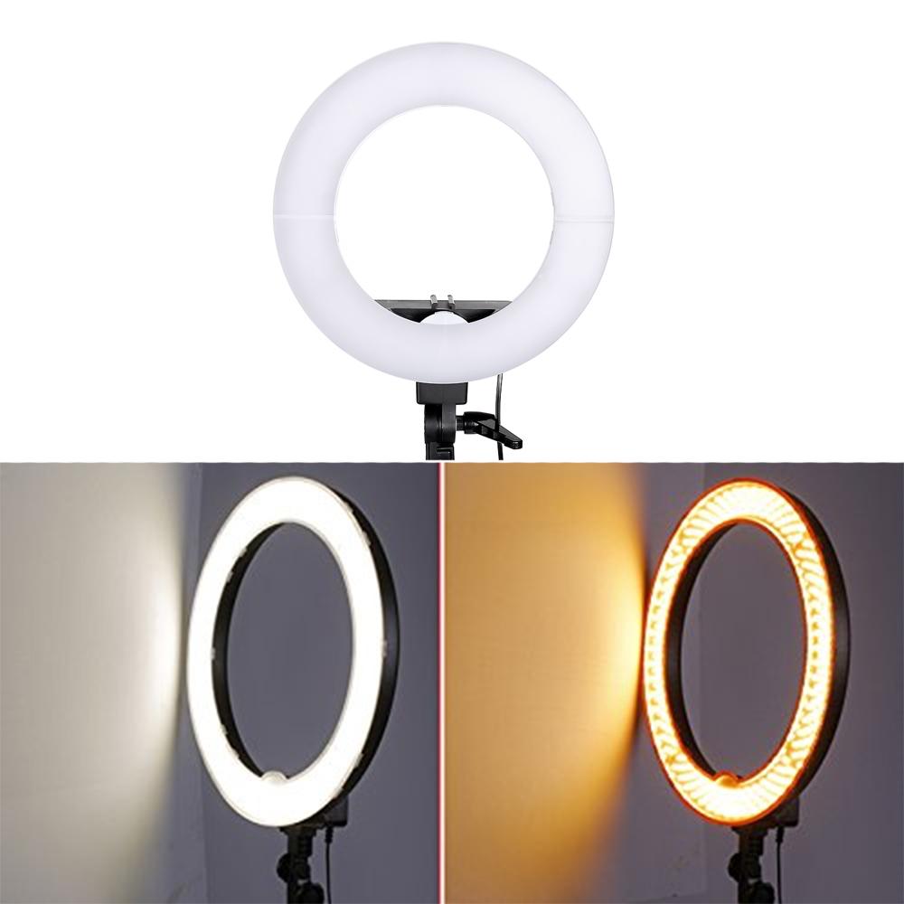 180pcs LED Ring Light Dimmable 5500K Lighting Video