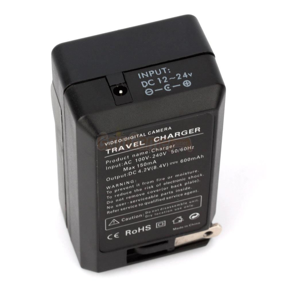 2* NP-BG1 Battery+Charger for SONY Cyber-Shot DSC-H10 H20 ...