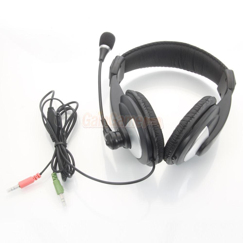 3 5mm Jack Stereo Gaming Headphone Headset With Mic For Desktop Pc Laptops Us Ca Ebay
