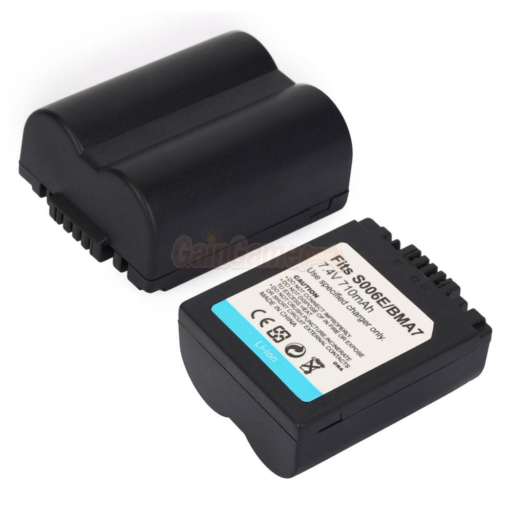 Cga s006e battery for panasonic lumix dmc fz18 dmc fz30 - Batterie panasonic lumix dmc fz18 ...
