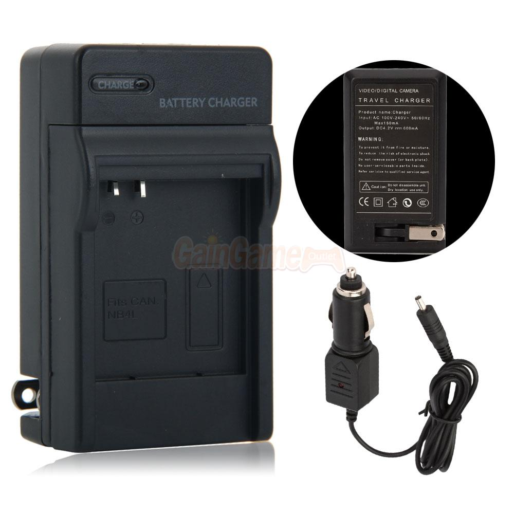 2 X Nb 8l Battery Charger For Canon Nb8l Powershot A2200